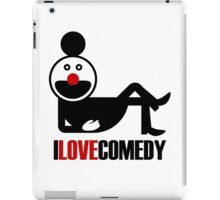 I Love Comedy iPad Case/Skin