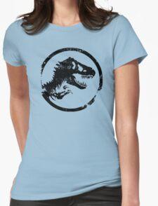 Jurassic park/world logo Womens Fitted T-Shirt