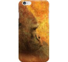 Gorilla Thoughts iPhone Case/Skin