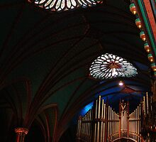 Pipes Basilica Notre Dame Montreal by TFreestyle