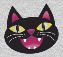 Black cat happiness One Piece - Long Sleeve