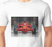 2008 Ferrari F1 Racing Car Kimi Raikkonen Unisex T-Shirt