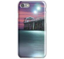 Grange Jetty: Crimson sunset iPhone Case/Skin
