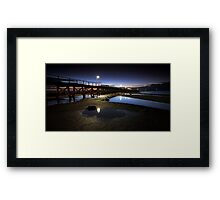 Moonta Bay Jetty Framed Print