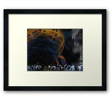 Welcome to a Brave New World Framed Print