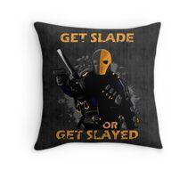 Deathstroke - Arrow Throw Pillow