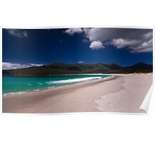 Waves on Wineglass Bay Poster