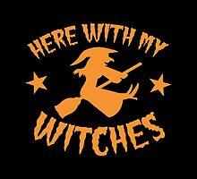 Here with my WITCHES awesome HALLOWEEN design by jazzydevil