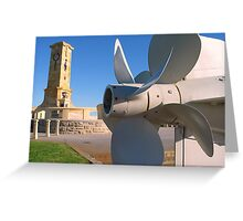 Monument Hill - Fremantle Greeting Card
