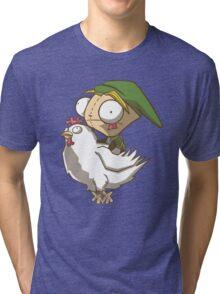Invader Link Tri-blend T-Shirt