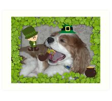 What's all this blarney about EVERYONE being Irish on St. Paddy's Day? Art Print