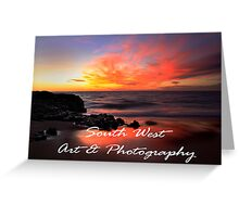 South West Art & Photography Greeting Card