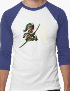 Say Listen Again Men's Baseball ¾ T-Shirt