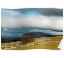 Pen y Ghent Yorkshire Dales Poster