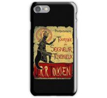 Tournee du seigneur tenebreux iPhone Case/Skin