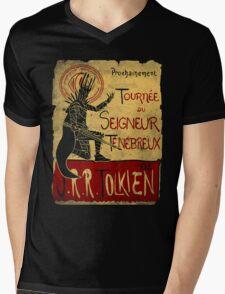 Tournee du seigneur tenebreux Mens V-Neck T-Shirt