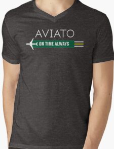 Aviato! On Time Always - Silicon Valley Mens V-Neck T-Shirt