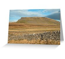 Pen y Ghent Yorkshire Dales Greeting Card