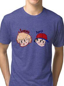 Ness and Lucas! Tri-blend T-Shirt