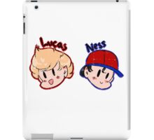 Ness and Lucas! iPad Case/Skin