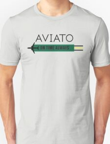 Aviato! On Time Always (Black)- Silicon Valley T-Shirt