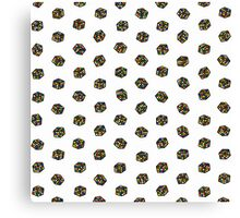 Rubik's Cube Pattern Canvas Print