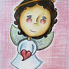 Little Love Angel by Rosie Harriott
