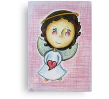 Little Love Angel Canvas Print