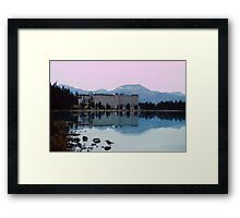 Reflections- Chateau Lake Louise Framed Print