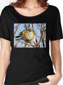 Snuggle Time - Silvereyes - NZ Women's Relaxed Fit T-Shirt