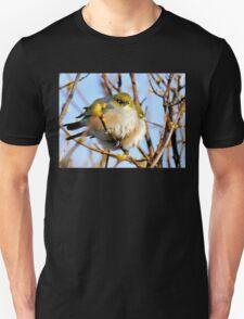 Snuggle Time - Silvereyes - NZ Unisex T-Shirt