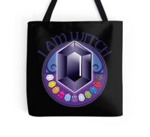 I AM WITCH with black jewels Tote Bag