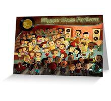 Bigger Boss Reggae Party Greeting Card