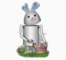 Cute Easter Robot -  Robo-x9  by Gravityx9