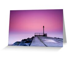 """""""The Gentle Tide"""" Greeting Card"""