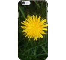 Yellow goes well with grass iPhone Case/Skin