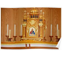 Ukrainian Catholic Church Altar... Poster