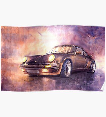 Porsche 911 Turbo 1979 Poster