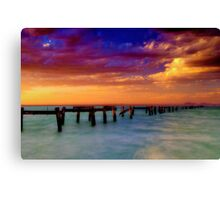 """Evening Impressions"" Canvas Print"