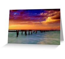 """Evening Impressions"" Greeting Card"
