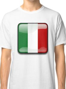 Mexican Flag, Mexico Icon Classic T-Shirt