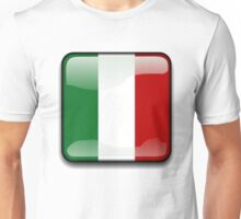 Mexican Flag, Mexico Icon Unisex T-Shirt