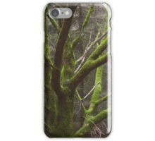 Green pullover iPhone Case/Skin
