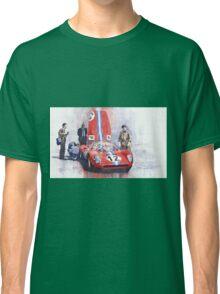Ferrari 206 SP Dino 1966 Nurburgring Pit Stop Classic T-Shirt