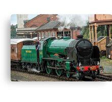 Cheltenham, Steam Engine 925 Canvas Print
