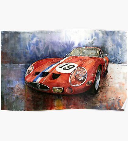 Ferrari 250 GTO 1963 Poster
