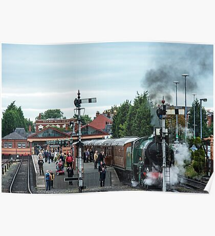 Kidderminster Steam Railway Station Poster