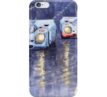 Gulf-Porsche 917 K Spa Francorchamps 1970 iPhone Case/Skin