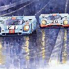 Gulf-Porsche 917 K Spa Francorchamps 1970 by Yuriy Shevchuk
