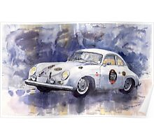 Porsche 356 Speedster Poster